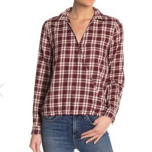 MADEWELL   arion wrap front top